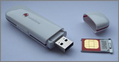 vodafone mobile broadband USB modem (dongle)