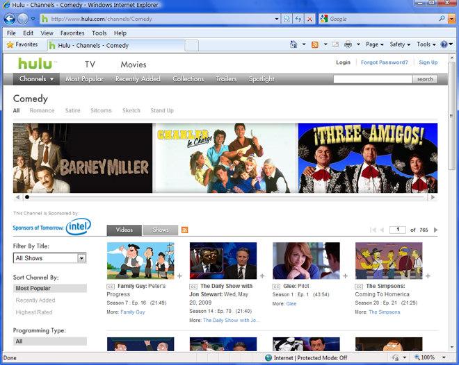 Broadband Internet TV Service Hulu Still Targeting UK ...