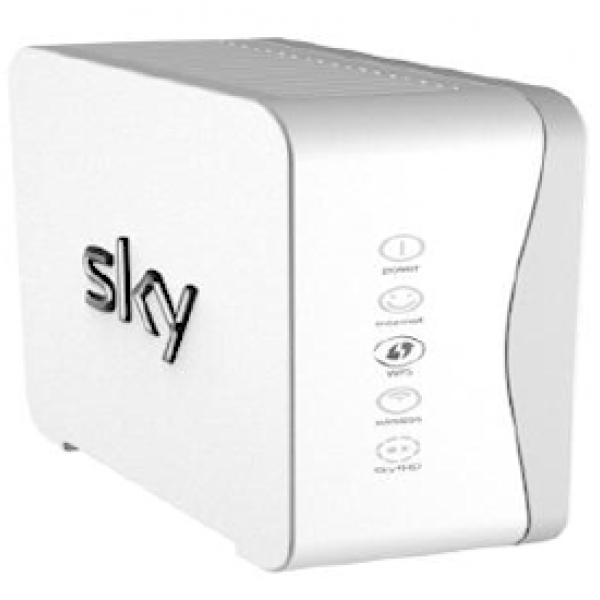 sky hub broadband router uk