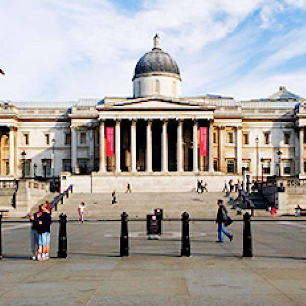 the national gallery london uk