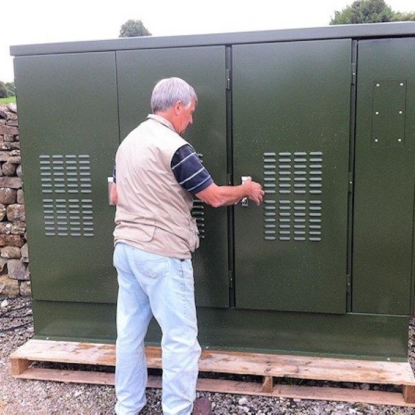 b4rn's massive fibre optic cabinet