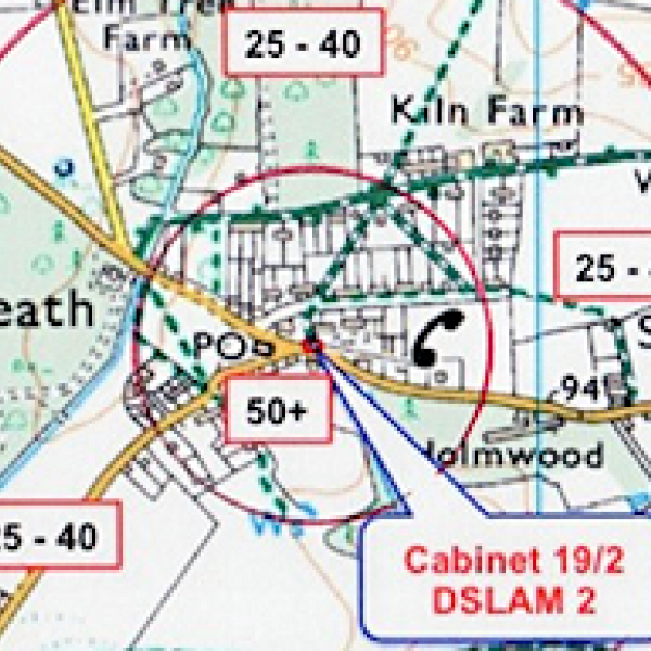 binfield heath broadband map