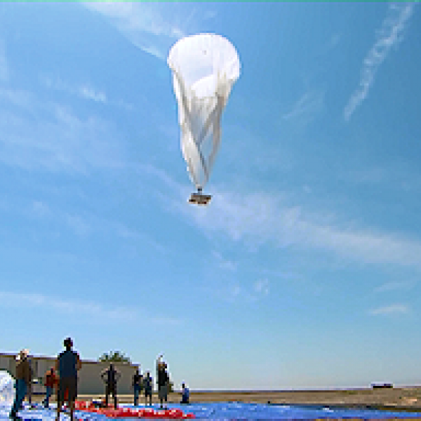 project loon's Google broadband balloon