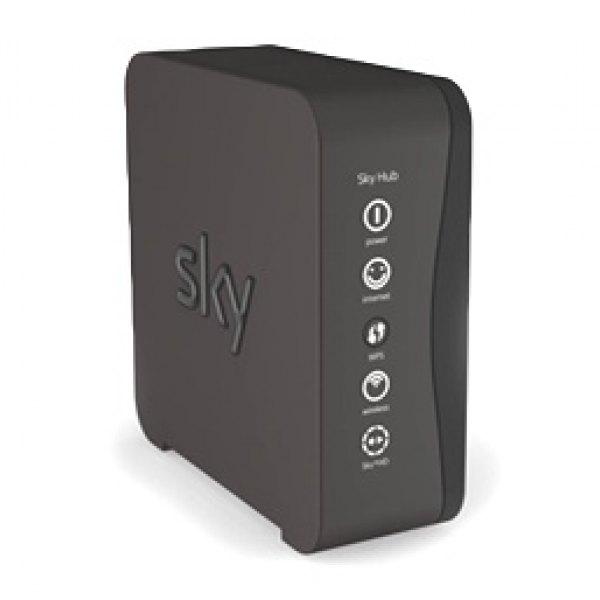 sky hub sr102 black