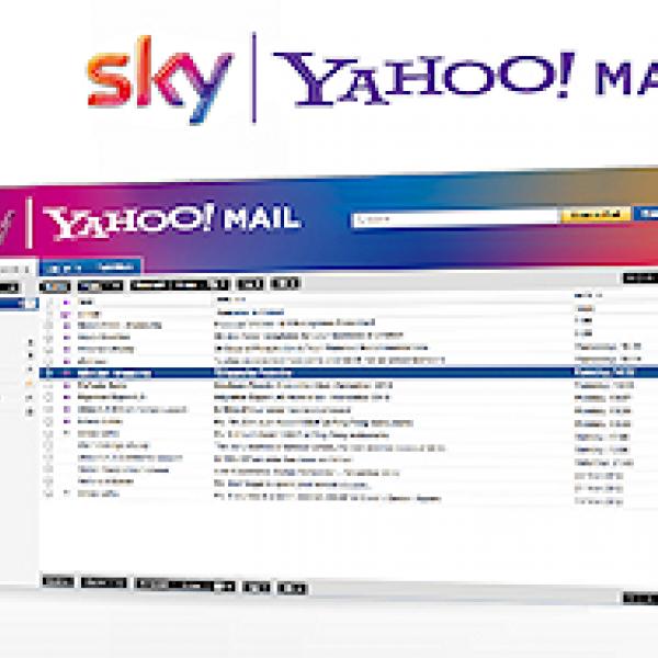 sky yahoo mail