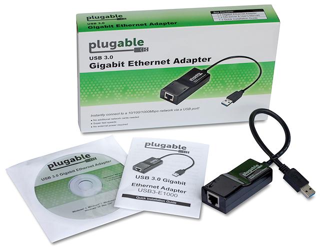 usb to ethernet plugable