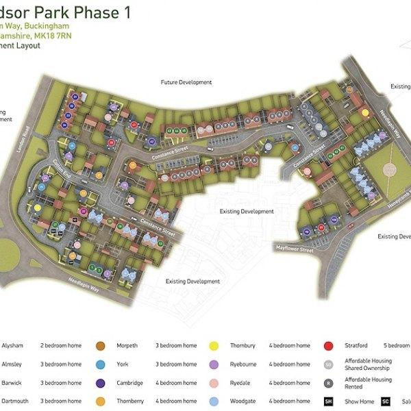 windsor park development map uk