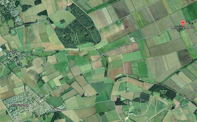 metheringham fen map