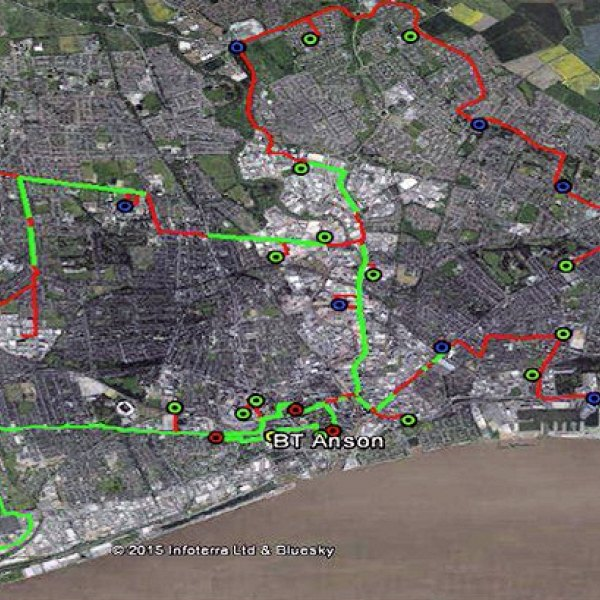 Cityfibre\'s Hull UK fibre optic broadband network map