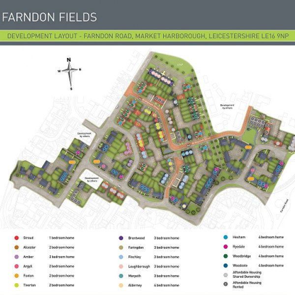 farndon fields development map