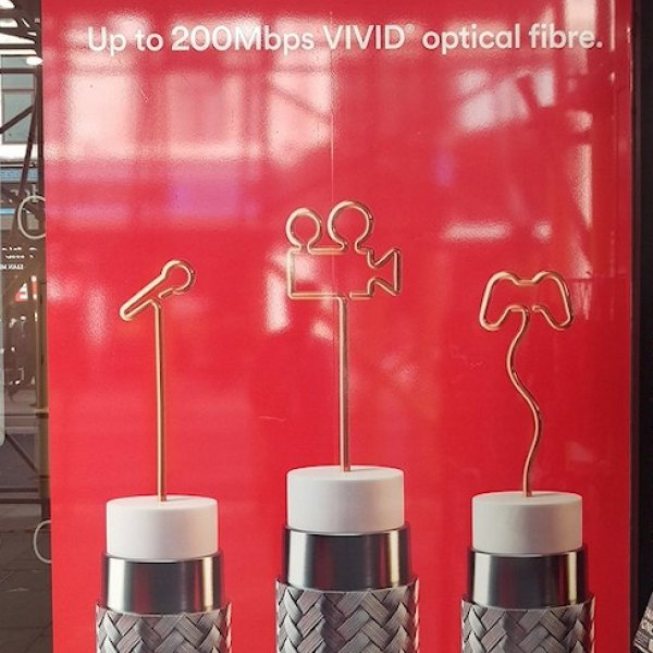 virgin media coaxial copper cable advertised as fibre optic