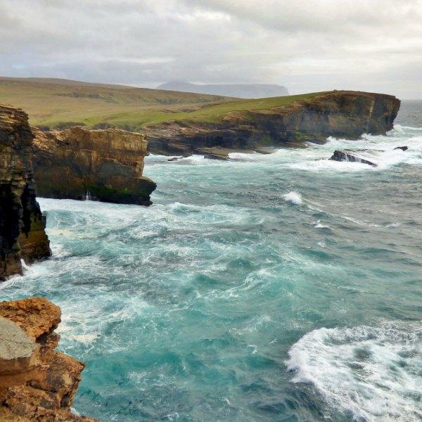 orkney sea scotland island