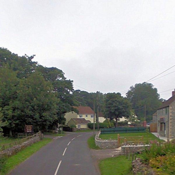 Priddy village somerset uk