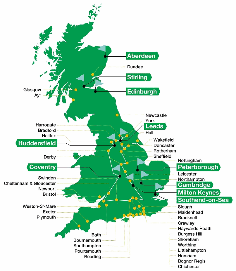 cityfibre_uk_ftth_broadband_map_highlights_in_green