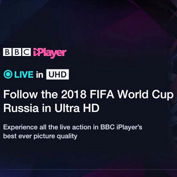 bbc 2018 fifa world cup 4k hdr iplayer