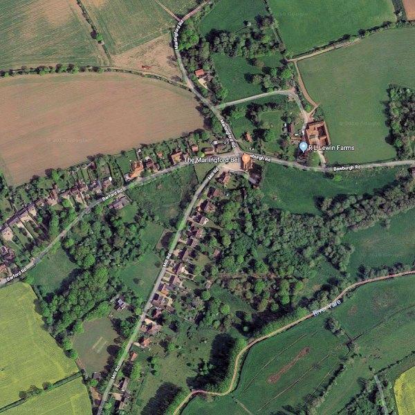 marlingford norfolk uk google maps