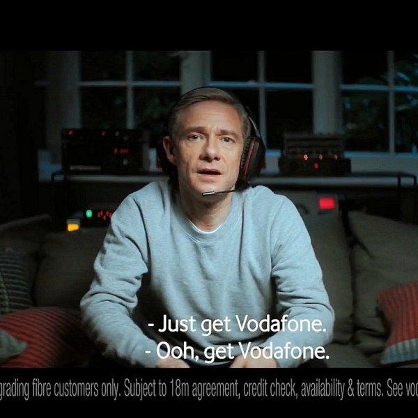 vodafone broadband martin freeman