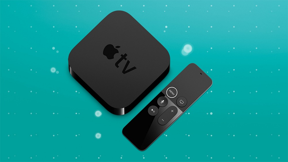 ee apple tv 4k top view