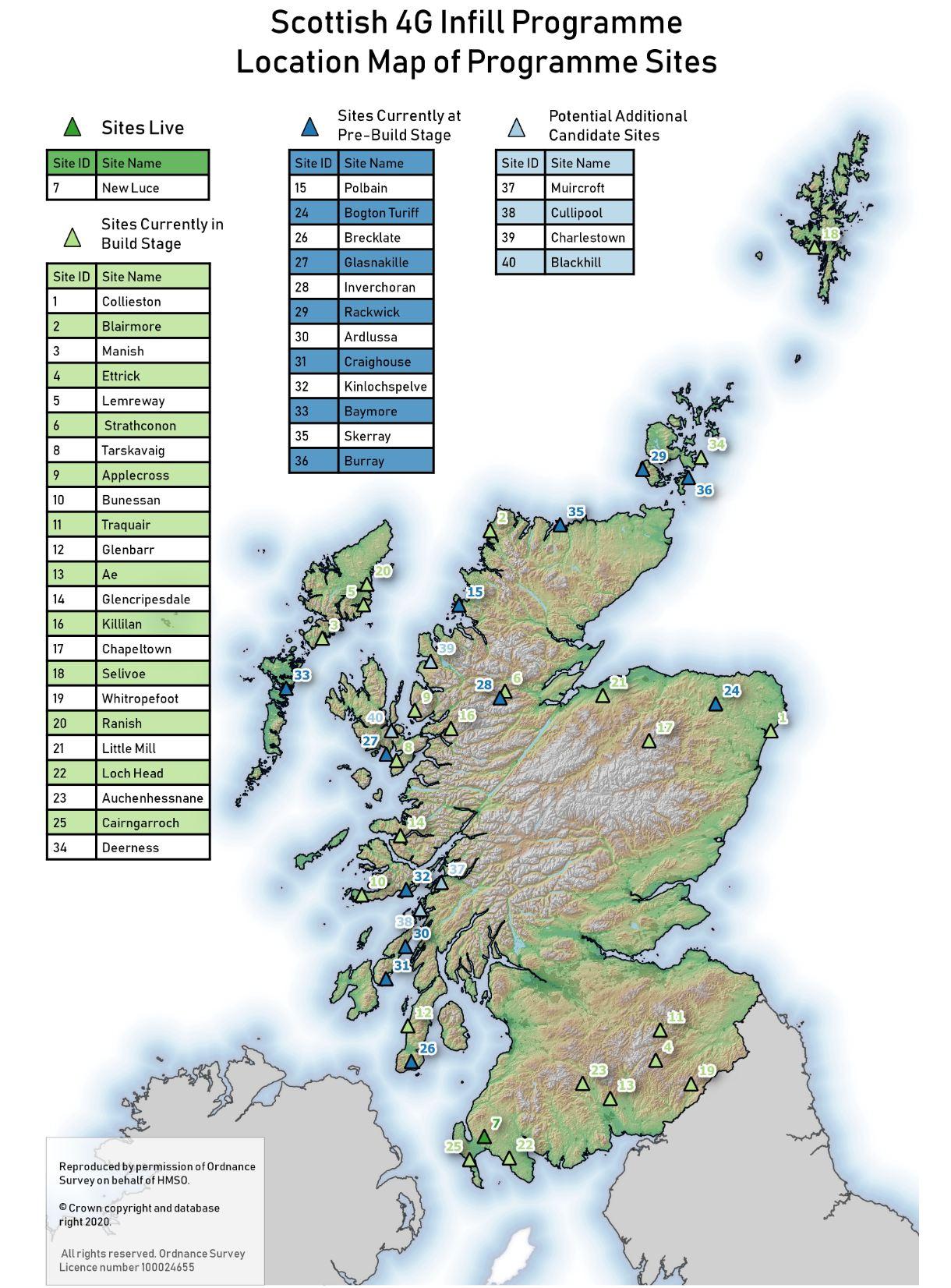 scotland 4g infill map 2020
