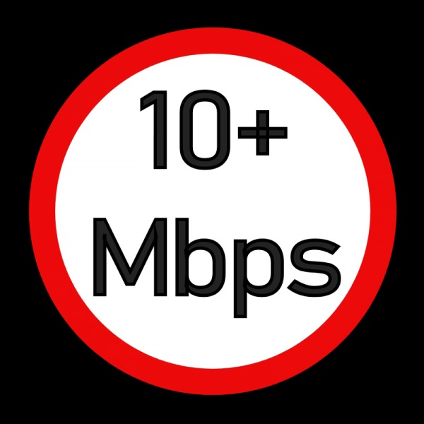 10mbps uso minimum broadband speed uk
