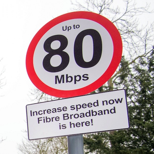 "80mbps bduk ""up to"" broadband speed limit traffic sign"