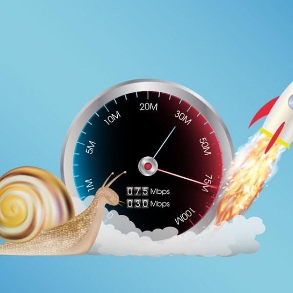 broadband speed rocket and snail uk isp