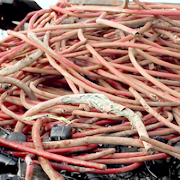 copper telecoms and broadband cable scrap