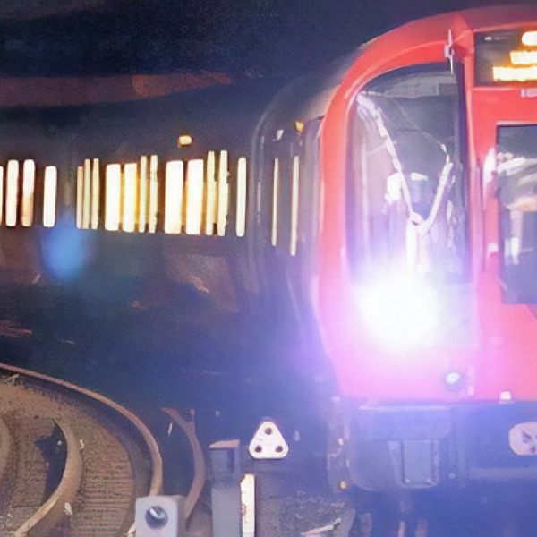london underground tube trains