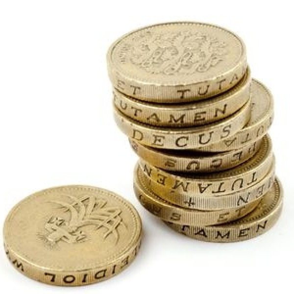 money pound sterling coins