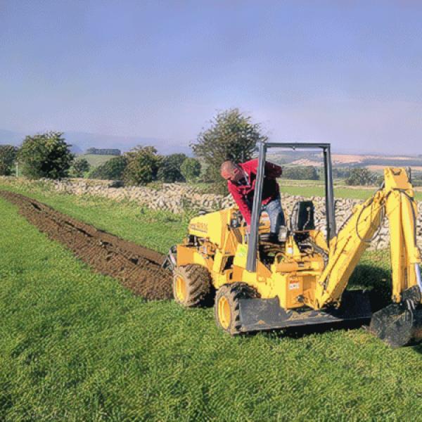 uk rural fibre optic dig