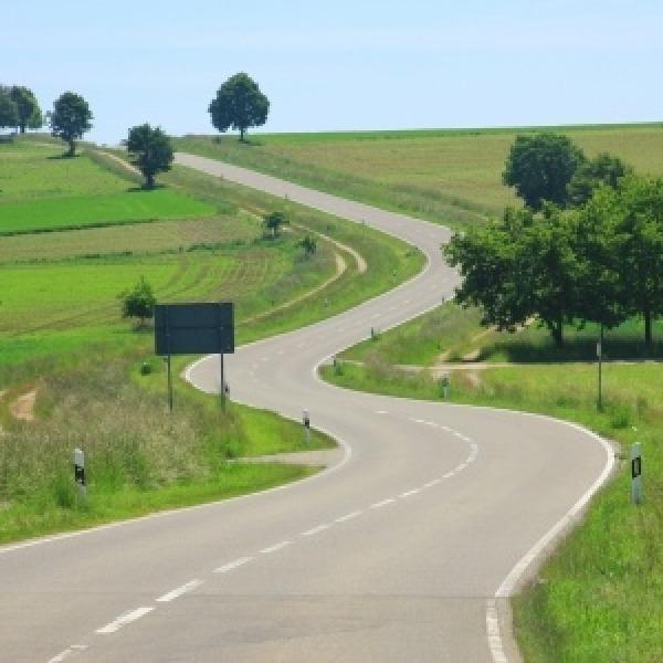 road rural countryside