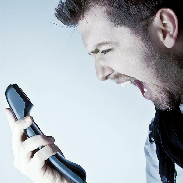 telephone support rage and complaints