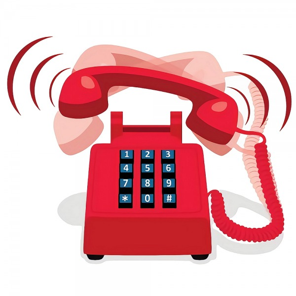 telephone uk red ringing broadband
