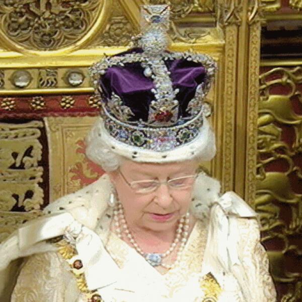the queen uk