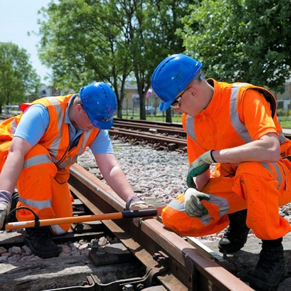 trains network rail engineers