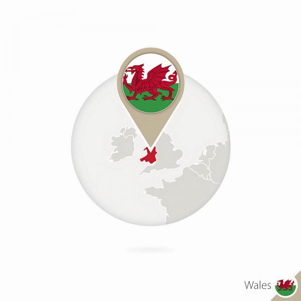 wales map point uk