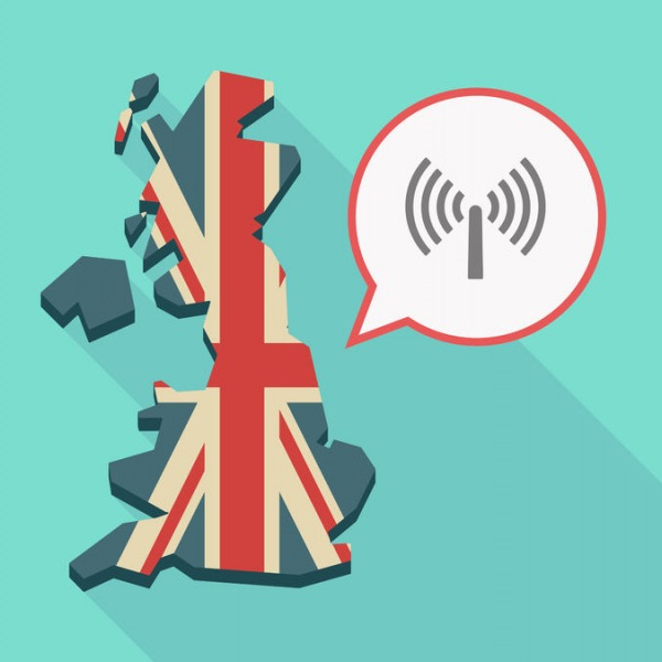 wireless signal uk map