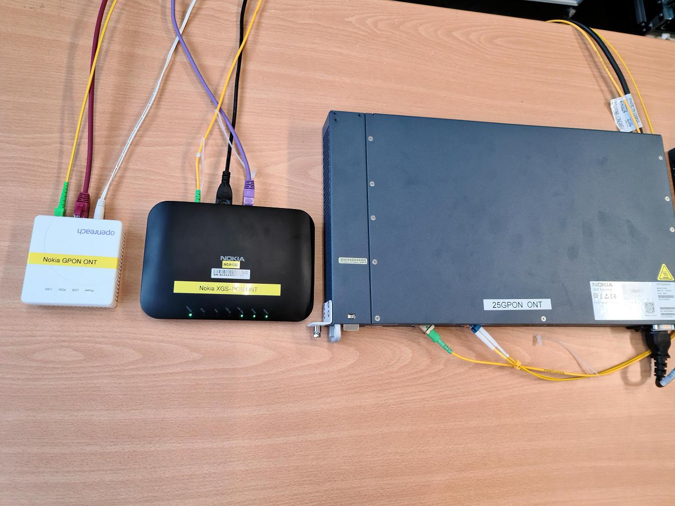 Openreach-Nokia-25G-PON-Test-Hardware-Setup