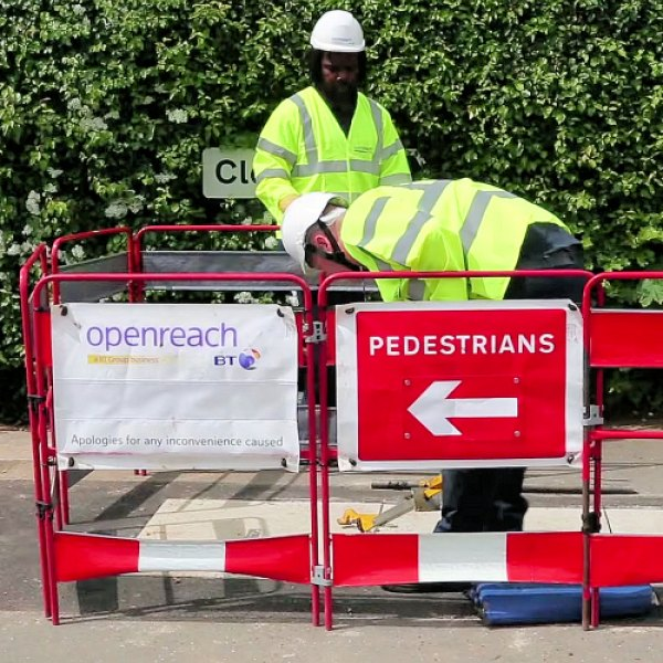 apologies for any inconvenience by openreach uk