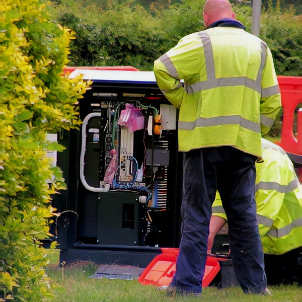 bt superfast broadband fttc street cabinet uk install