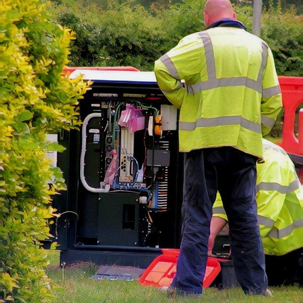 bt superfast broadband fttc street cabinet uk install