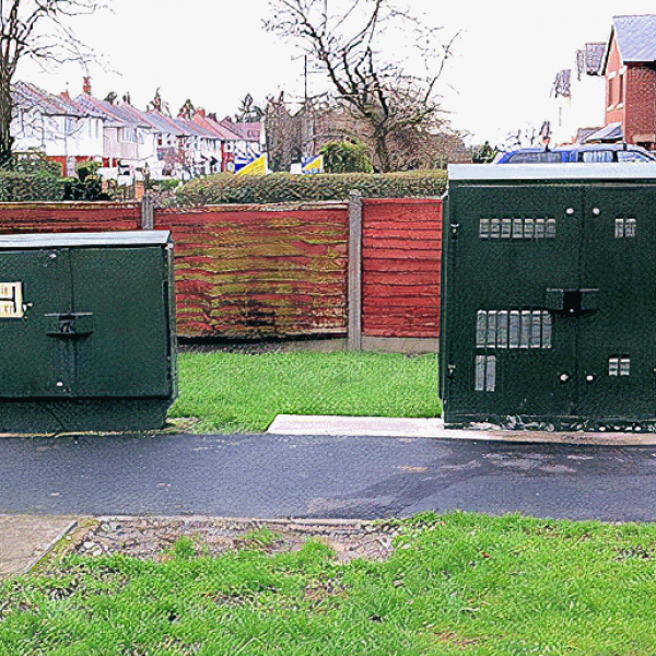 bt old versus new uk FTTC street cabinets
