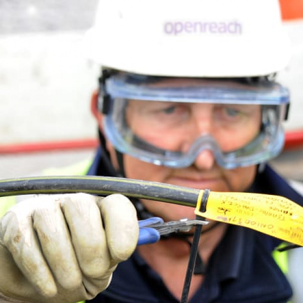 bt openreach cable maintenance