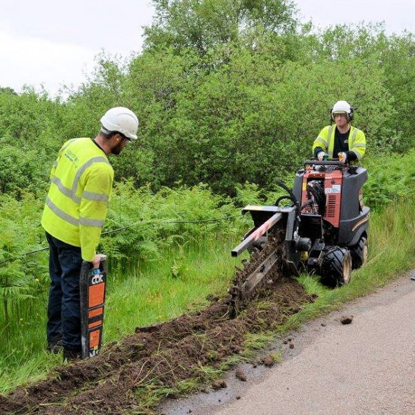 ditch witch openreach bt civil engineers