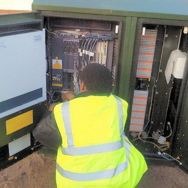 bt street cabinet fttc deployment