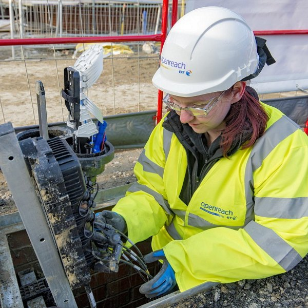 fttp new build fibre optic distribution point openreach