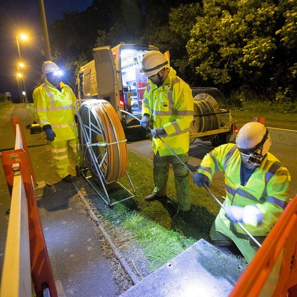 night time engineering openreach 2017