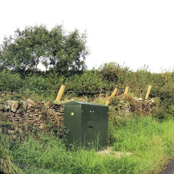 old hutton and middleshaw fttc cabinet