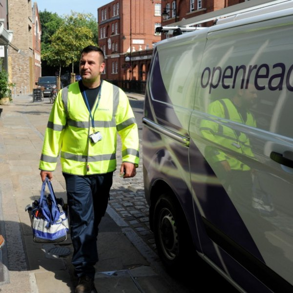 openreach 2017 engineer and van