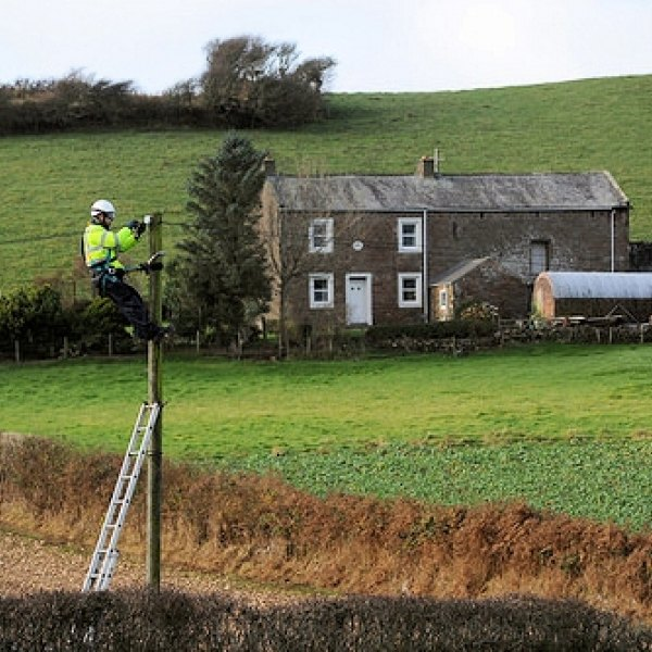 rural homes bt openreach engineer